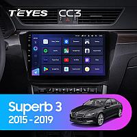 Автомагнитола Teyes CC3 4GB/64GB для Skoda Superb 2015-2019, фото 1