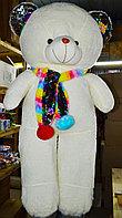 Мишка 120см бант шарф пайетки, фото 1