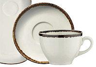 Чайная пара фарфоровая