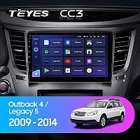 Автомагнитола Teyes CC3 4GB/64GB для Subaru Legacy 2009-2014