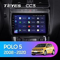 Автомагнитола Teyes CC3 4GB/64GB для Volkswagen Polo 2008-2020, фото 1
