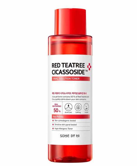 Тонер для проблемной кожи Some By Mi Red Tea Tree Cicassoside Final Solution Toner, 150мл