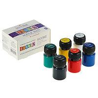 Набор акриловых красок Decola, 6 цветов, 20 мл, матовые