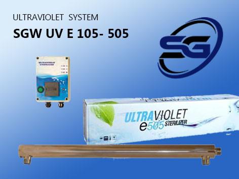 УОВ установка обеззараживания воды производительностью 3 м3/час SGW UV E -305 PRO