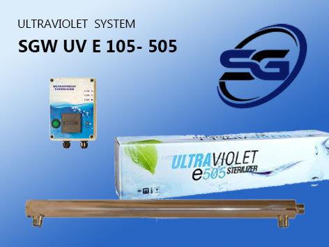 УОВ установка обеззараживания воды производительностью 3 м3/час SGW UV E -305 PRO, фото 2