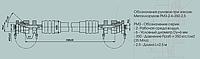 Заправочный металлорукав с параллельными гофрами