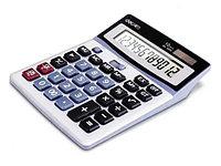 """Калькулятор настольный DELI """"1654"""" (12 разрядный, Gray)"""