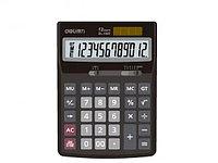 """Калькулятор настольный DELI """"1507"""" (12 разрядный, Gray)"""