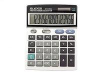 "Калькулятор настольный SKAINER ""806ML"" (16 разрядный, Gray)"