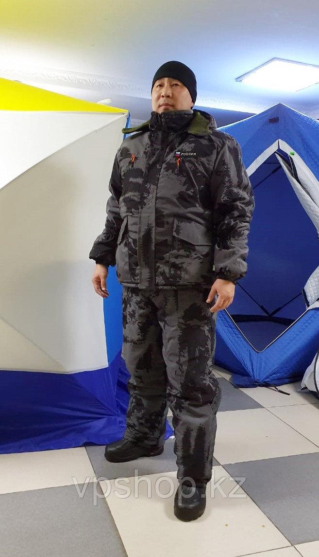 Утепленный костюм для зимней охоты и рыбалки