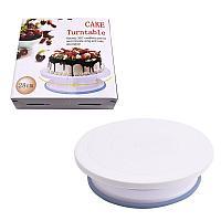 Вращающая тортница круглой формы
