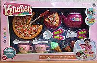 Набор игровой посуды с пицей