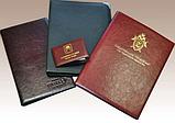 Подарочные коробки, Папки, Меню, Изделия из кожи, фото 3