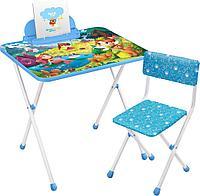 Детский стол и стул Ника с маленькими принцессами КП2/16