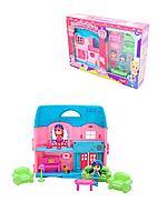 """Barmila: Игровой набор """"Кукольный домик с 2 мини-куклами"""""""