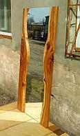 Зеркало авторское, с деревянной рамой