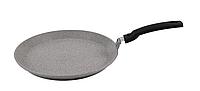 Сковорода блинная 24 см, светлый мрамор (Кукмара, Россия)