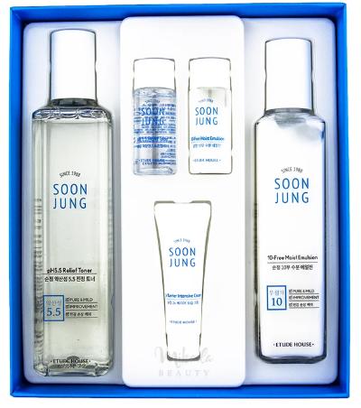 Успокаивающий набор Soon Jung Skin Care Set [2 Kinds], фото 2