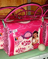 Игровой набор с косметикой для девочек. Сумочка с аксессуарами.