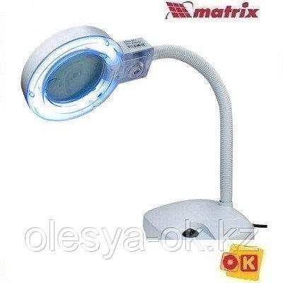 Лупа с подсветкой 3 и 8 кратная, MATRIX. 913605
