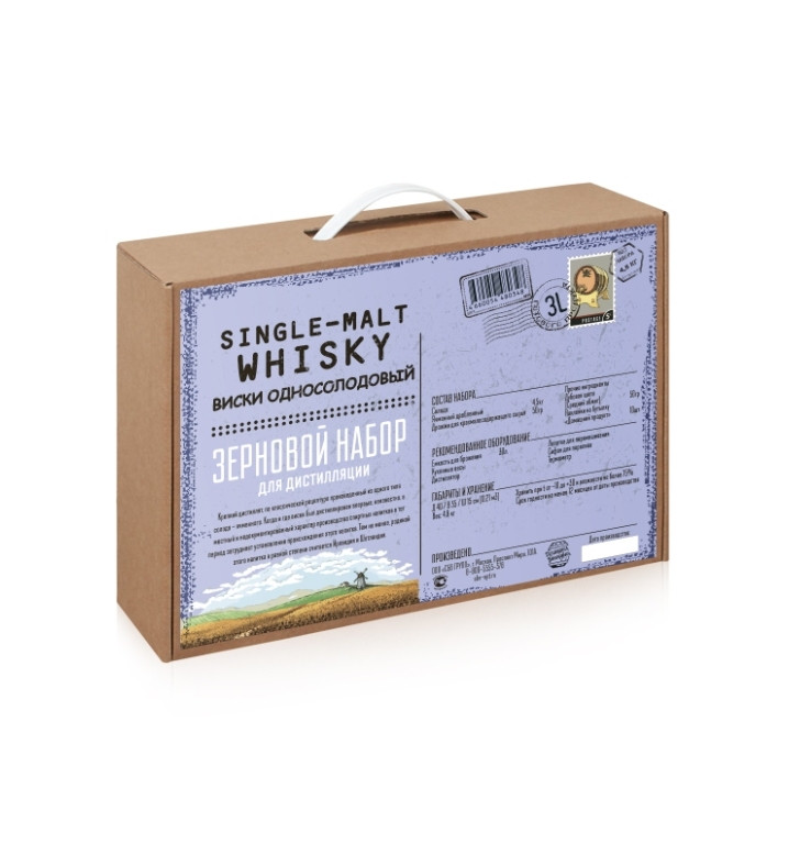 BrewBox «Single-Malt Whisky» (Односолодовый Виски) для дистилляции