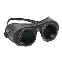 Защитные очки для газовой сварки с откидными стеклами, затемнение 5 (блистерная упаковка)