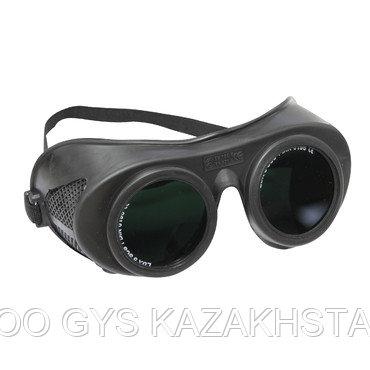 Защитные очки для газовой сварки с откидными стеклами, затемнение 5 (блистерная упаковка), фото 2