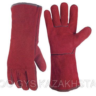 Перчатки кожаные - многофунциональные, фото 2