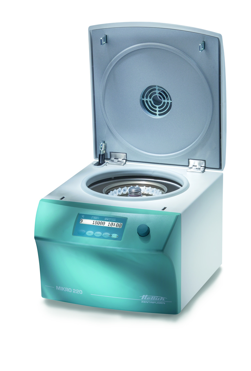 Лабораторная центрифуга для микрообъемов MIKRO 220 | 220 R
