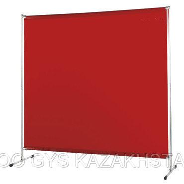 Защитная штора с рамой и ножками 200 x 200