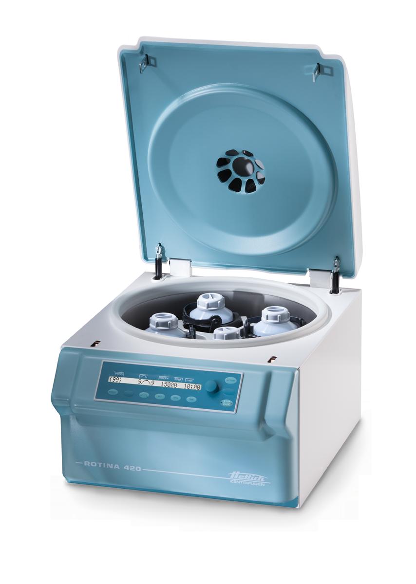 Лабораторная настольная центрифуга ROTINA 420   420 R