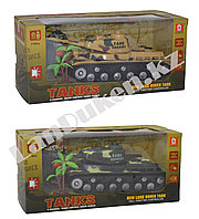 Игровой набор Танк с пультом управления Tanks цвета в ассортименте
