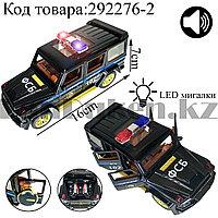 Игрушка детская машинка ФСБ металлическая со свето-звуковым сопровождением Die-Cast Metal Model Car Kings-toy