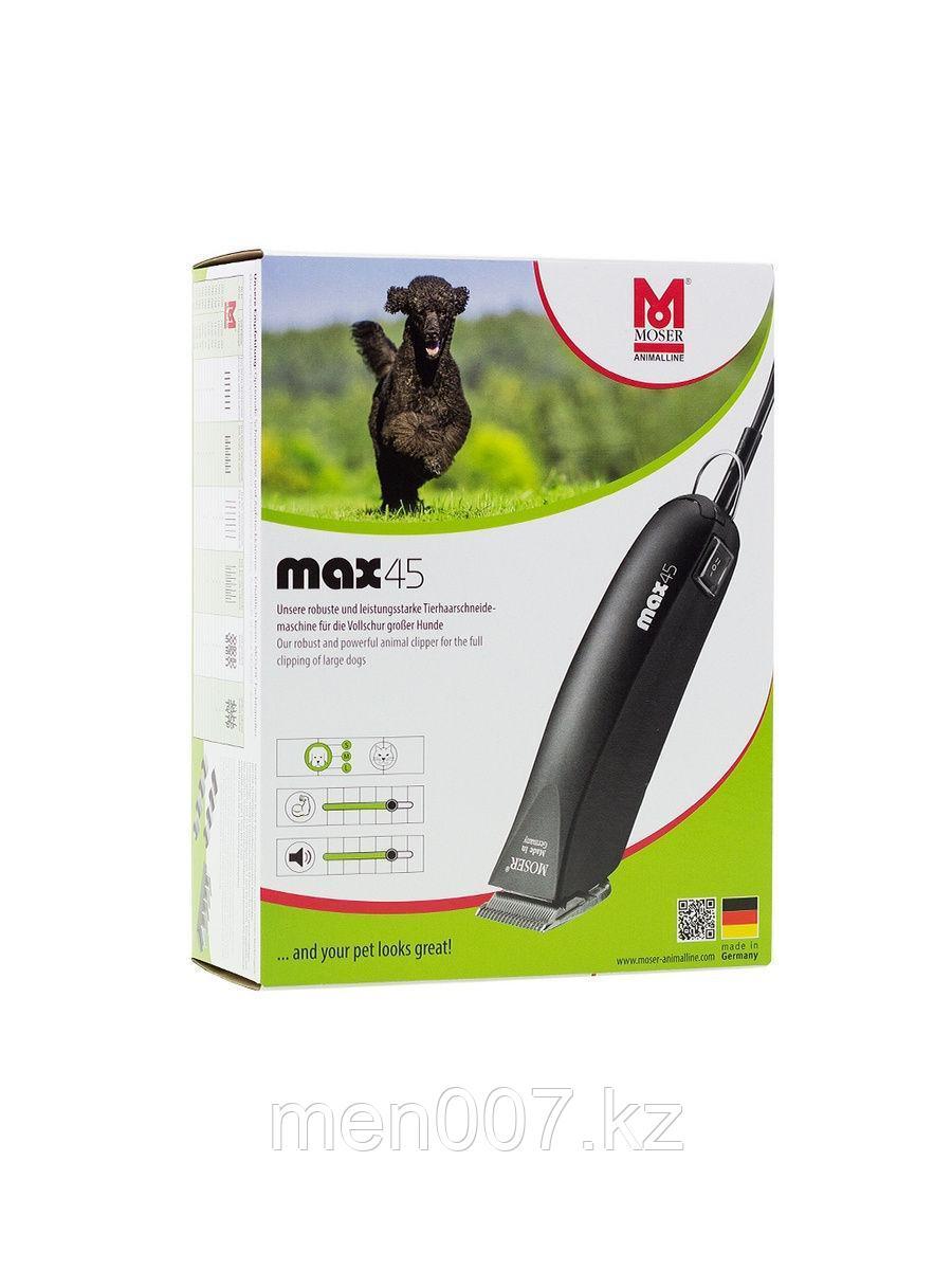 Машинка для стрижки животных Moser MAX45 (в комплекте насадки 10 и16мм и нож 1 мм)