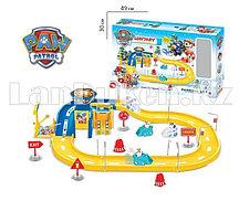 """Игровой набор Щенячий Патруль """"Парковочный гараж"""" Маршал и Эверест ZY-637"""