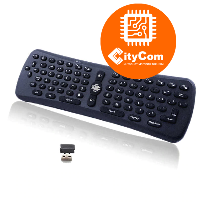Air mouse +keyboard  T3 беспроводная гироскопическая мышь Арт.4259
