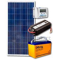 Комплектация солнечной электростанции, суммарной мощностью 50 Вт, 12В