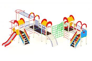Детский игровой комплекс «Солнышко» H=1200