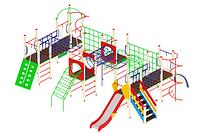 Детский игровой комплекс «Спорт» H=1200