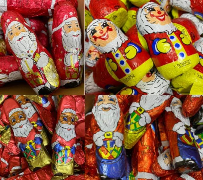 Дед мороз Санта Клаус Santa (в ассортименте разные виды) 1 кг