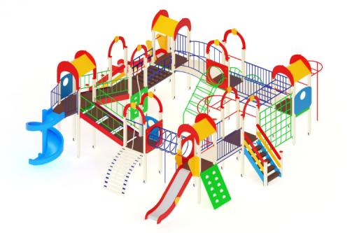Детский игровой комплекс «Остров детства» H=1200, 2000