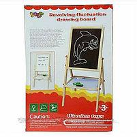 Магнитно-меловая доска для рисования., фото 4
