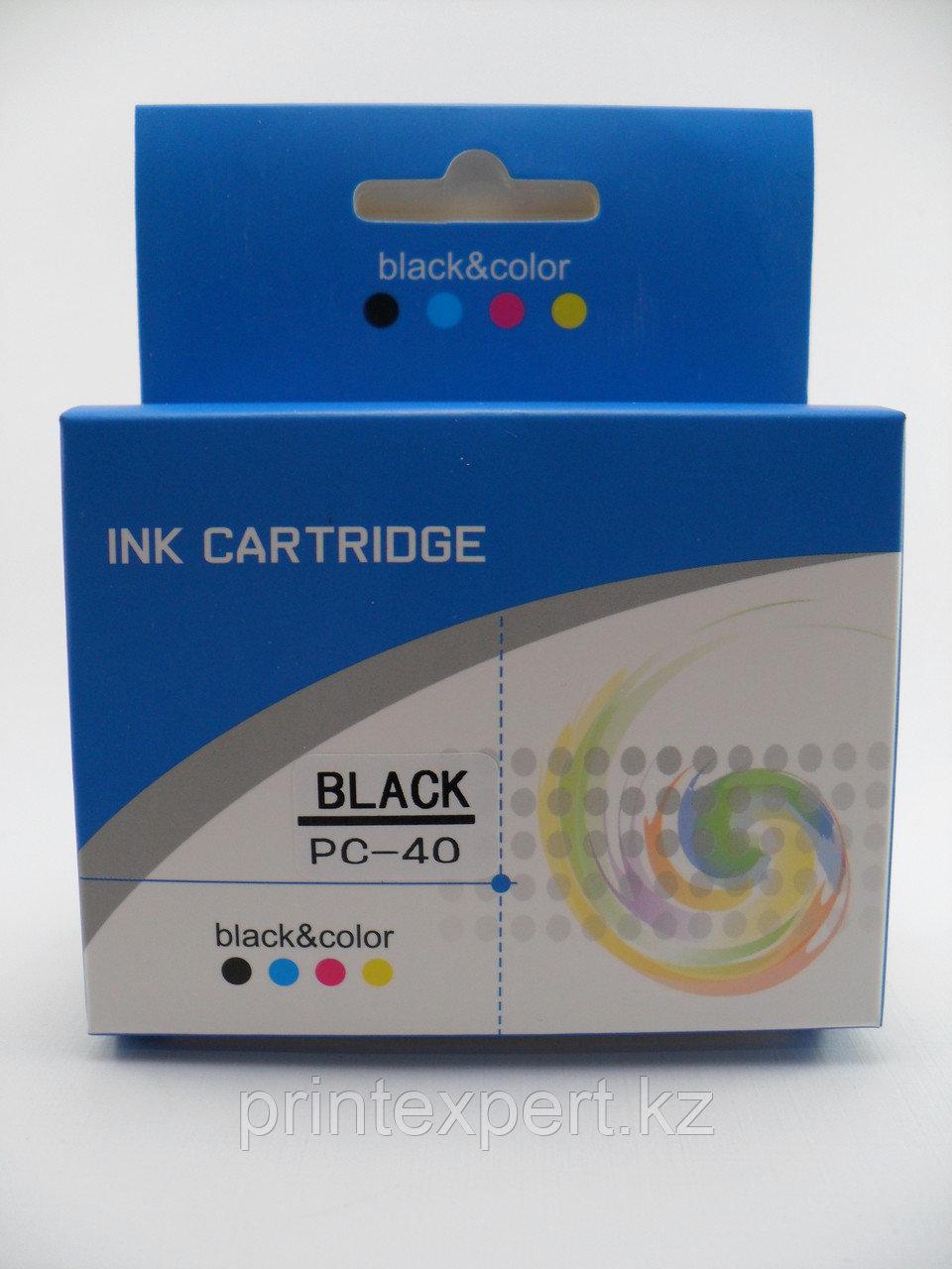 Картридж Canon PG-40XL Black