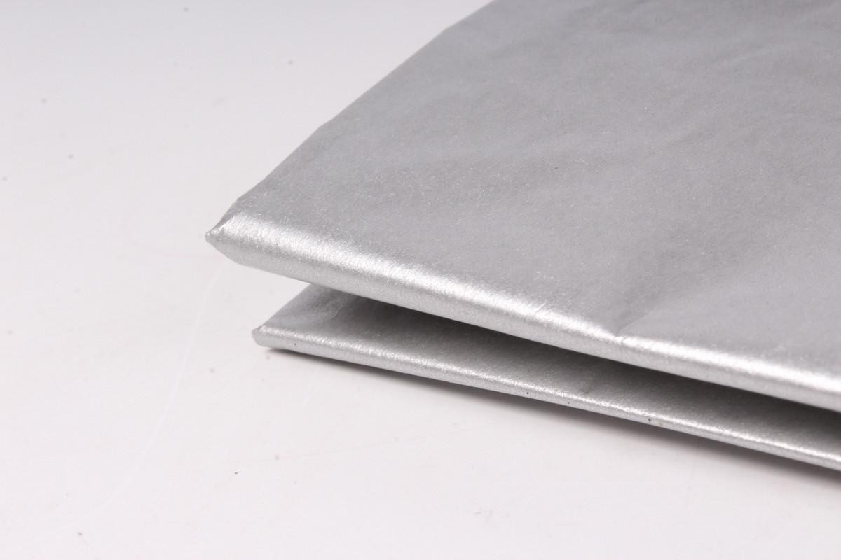 Бумага тишью, tissue paper ,Серебро, 20 шт. 50х66 см, Алматы