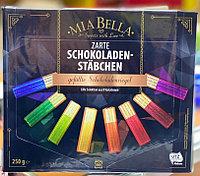 Шоколадные батончики Mia Bella Schokoladen Stabchen 250гр
