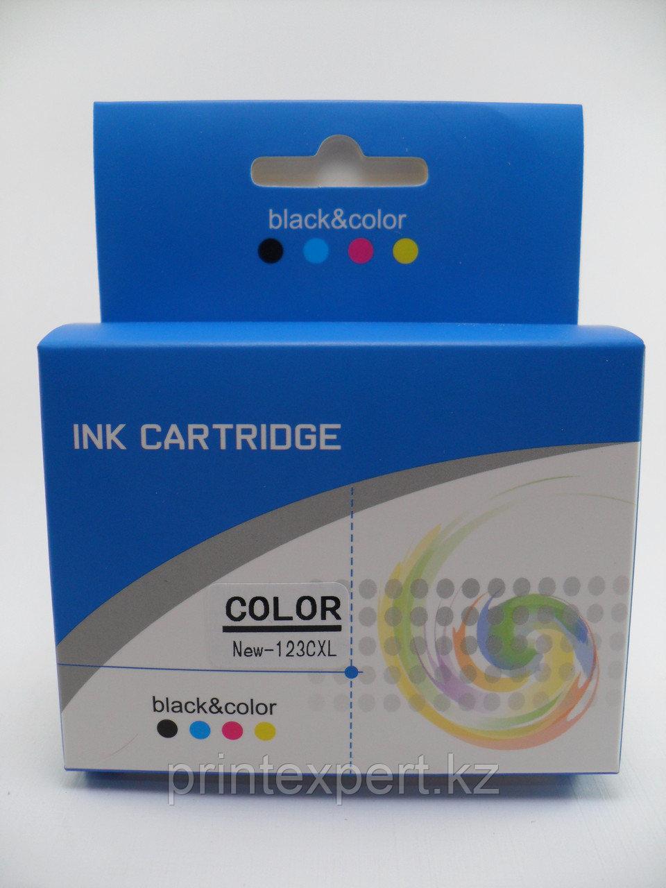 Картридж HP 123XL color
