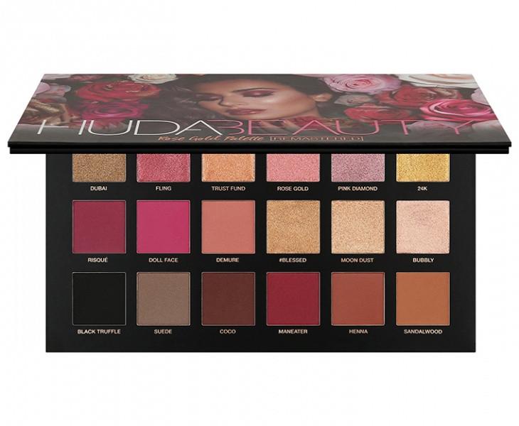 Палетка теней для век Huda Beauty 5D 24 color