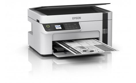 МФУ Струйное Epson M2120, А4, чб, 32 стр/мин, Сканер 1200x2400dpi, USB, WIFI, C11CJ18404