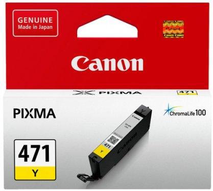Чернила Canon CLI-471 Y (0403C001AA)