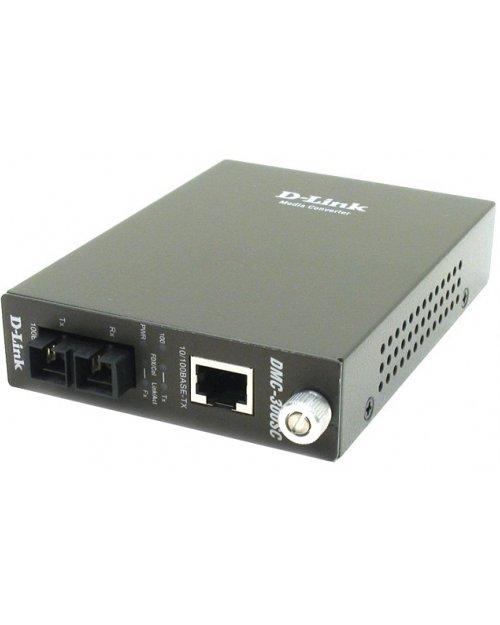 D-Link DMC-300SC Медиаконвертер многомод 2 км